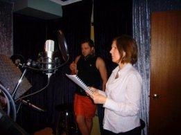 Recording studio face